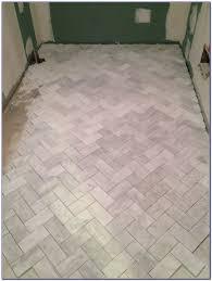 Herringbone Tile Floor Kitchen - herringbone tile pattern kitchen floor tiles home decorating