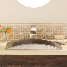 Hammered Copper Bathroom Sink Eclipse Copper Bathroom Sink Native Trails