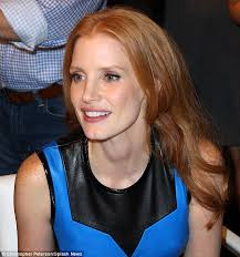 35 year old women hair cuts fashion night out 2012 jessica chastain is a fashionista in