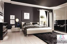Black And White Bedroom Design Inspiration Interior Astounding Black And White Decor For Modern