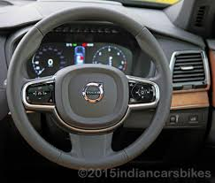 volvo steering wheel volvo xc90 road test review