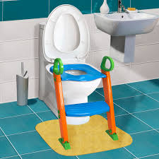 kids potty training seat with step stool ladder for child toddler