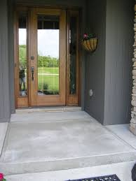 Behr Porch And Floor Paint On Concrete by Exterior Concrete Front Porch Ideas U0026 Recommendation Porch Paint