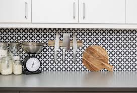 Vinyl Wallpaper Kitchen Backsplash Great Home Decor Smart - Wallpaper backsplash