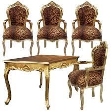 Esszimmerst Le Mit Armlehne Holz Stühle Mit Armlehne Esszimmer Leoparden Fell Esstisch Angebot Set