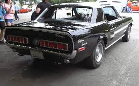 68 mustang california special black 1968 ford mustang gt california special hardtop