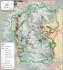 Colorado National Parks Map by Rocky Mountain National Park Colorado Usa Map Shows Park