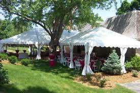 backyard tent rentals tent for outdoor wedding party in omaha ne