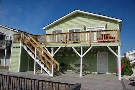 captain p u0027s holden beach nc canal house for rent nc beach