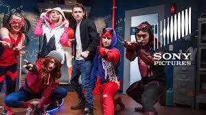 spider man homecoming u2013 diy suit challenge big reveal youtube