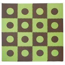 Sears Laminate Flooring Flooring Eva Foam Play Mats Green Brown Floor Tiles Interlocking