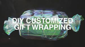customized wrapping paper diy candy gift wrapping customized wrapping paper