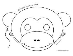 25 monkey template ideas monkey pattern