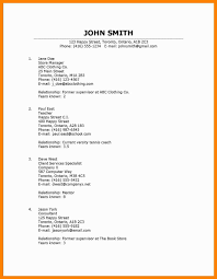 Resume Reference Samples by How To List References For A Resume
