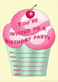 Invitation Cards Free Printable Girls Birthday Invitations For Girls Birthday Invitations For Girls