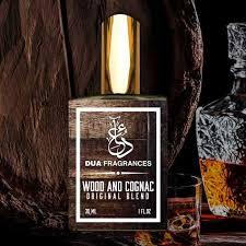 wood and wood and cognac dua fragrances