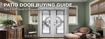 Covering Patio Doors Patio Door Buying Guide At Menards