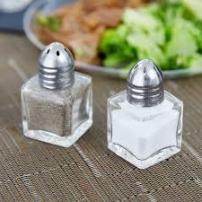 small salt shakers 5 oz mini salt and pepper shaker 24 case