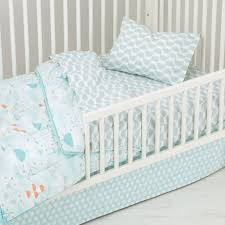 Duvets For Toddlers Well Nested Toddler Bedding Blue The Land Of Nod