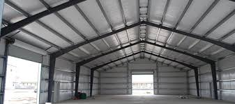 Pole Barn Roofing Pole Barn Steel Roof Trusses Flat Roof Pictures