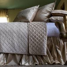 Ivory Quilted Bedspread Coverlets Blankets Bedding Set Demi Ryan