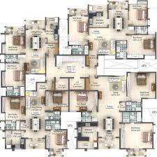 2438 sq ft 3 bhk 3t apartment for sale in vnct ventures the white