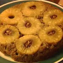 pineapple and ginger upside down cake recipe by roopa gulati