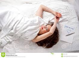 good morning beautiful woman stock photo image 58744139