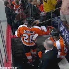Flyers Meme - gif hockey flyers philadelphia flyers giroux voracek flyersgif