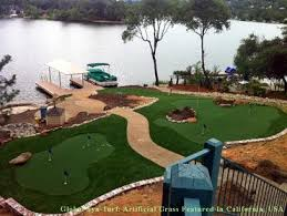 Backyard Putting Green Designs by Best Artificial Grass Prescott Oregon Backyard Deck Ideas