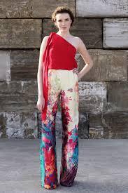 pantalon palazzo estampado para invitada de boda evento fiesta