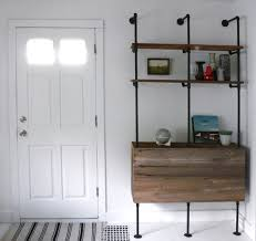 Steel Pipe Shelving by 25 Wonderful Things You Can Make With Pipe