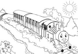 train coloring print the train coloring pages kids
