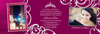 Tri Fold Invitations Tri Fold Quinceanera Photo Invitations Photo Card Chef
