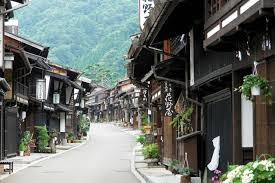 japanese town traditional towns