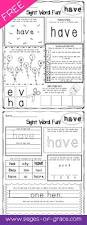 ideas about free sight word worksheets for kindergarten easy