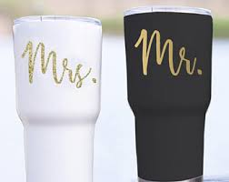 His And Hers Wedding Gifts His And Hers Yeti Etsy