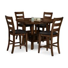 Ashley Kitchen Furniture Ashley Furniture Berringer Hickory Stained Hardwood Round Drop