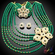 beaded necklace jewelry designs images Dubai gold jewelry crystal beads set designer coral beads necklace jpg