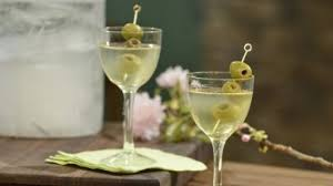 dry martini dirty martini recipe michael chiarello food network