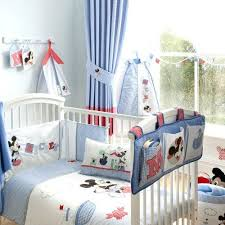 mickey mouse crib bedding set at home and interior design ideas