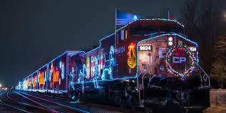 christmas lights train ride christmas train rides and holiday shows child s life