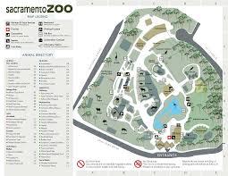 Map Of Sacramento Sacramento Zoo Image Gallery Hcpr
