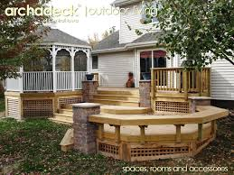 Pergola And Decking Designs by Decks And Decking An Outdoor Living Space Patios Porches