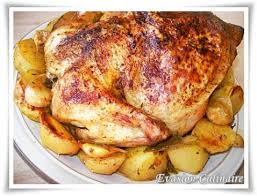 cuisiner un poulet roti poulet au four