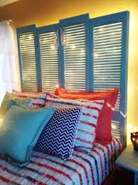 a batch of unique alternative headboards 1 unique and absolutely creative shutter headboard ideas bedroomi net
