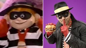 party city halloween commercial after 13 years mcdonald u0027s hamburglar is back after having been