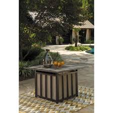 outdoor 5 piece pit table set by signature design by