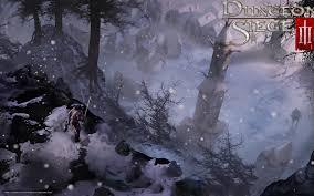 dungeon siege free wallpaper dungeon siege winter free desktop
