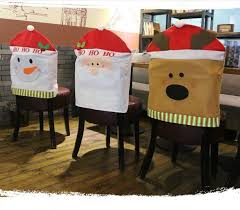 christmas chair covers hot sale christmas chairs cover creating antimacassar seat covers
